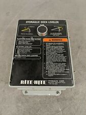 Rite Hite Hydraulic Vehicle Dock Commander Controller Restraint  Leveler Panel