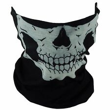 2 PCS Skull Mask Bandana Motorcycle SCARF FACE NECK COVER GHOSTS HALLOWEEN