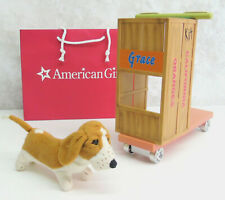 American Girl Doll KIT HOMEMADE SCOOTER & DOG Basset Hound Grace Molly Emily Pet