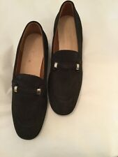 EXCELLENT CONDITION Tods Gommini Women's Suede Loafers - 41