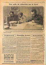 Journal l'Echo des Tranchées Journal des Gourbis Excelsior Poilus  WWI 1915