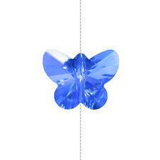 Crystal Faceted AAA Quality Blue Butterfly Bead 14mm Pack of 1 (A67/17)