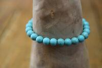 turquoise gemstone bead bracelet