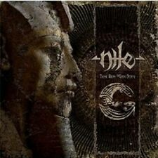 "Nile ""those whom the Gods detest"" CD DEATH metal nuovo"