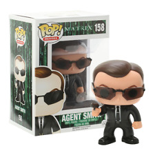 New The Matrix Agent Smith Pop Vinyl Figure #158 Funko Official