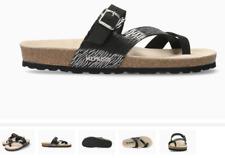 Mephisto Nalia Black Zebra Comfort Sandal Women's sizes 35-42 NEW