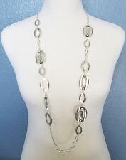 Chico's Jewelry Bailey Single Strand Necklace in Silver RV$59