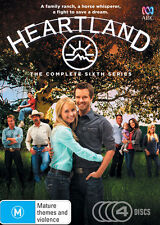 Heartland : Series 6 (2014, 4-Disc Set) New, Dead Stock, Genuine & unSealed D58