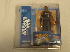 McFarlane NBA Series 8 Figure Allen Iverson 76ers Variant Black 3rd Edition