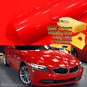 "120"" x 60"" Super Gloss Red Vinyl Film Wrap Sticker Air Bubble Free 10ft x 5ft"