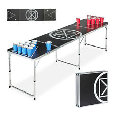 Beer Pong Tisch Campingtisch Partytisch Bierpong Bierspiel Klapptisch Trinkspiel