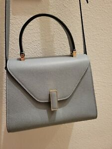 Auth Valextra Iside Mini Bag Slate Color Retail $2980