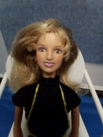 2000 Britney Spears Doll In Black Assemble Crop Top, no shoes, FREE shipping