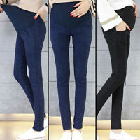 Fashion Casual Belly Maternity Jeans Pencil Trousers For Pregnant Women Soft