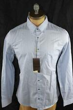 AUTH Gucci Men Stripe Web Long Slleve Shirt 15.5 39