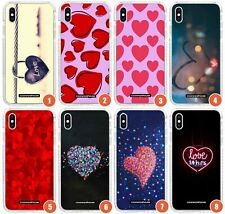 Hearts Slim Flexible Impact Case for iPhone | Paris Vibes Heart Cute