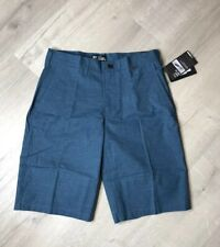 """Hurley Mens Dri-FIT Wesport 21.5"""" Walk Shorts size 30 Space Blue"""