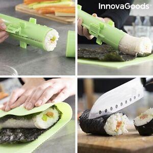 Sushi Maker Set 3 teiliges Sushimaker Sushi-Set Röllchen Roller Japanische Küche