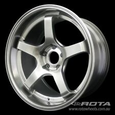 "18"" ROTA RT5-R 5/114.3 +35 Hyper Black WHEELS RIMS FORD TOYOTA HONDA MITSUBISHI"