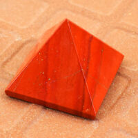 Exclusive 90.00 Carats Earth Mined Untreated Red Jasper Healing Chakra Pyramid