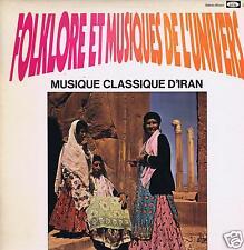 LP IRAN FOLKLORE & MUSIQUES DE L'UNIVERS