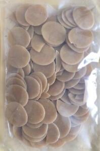 Indian Ready to Fry Dry raw Pani Puri (Golgappas) Uncooked Snacks