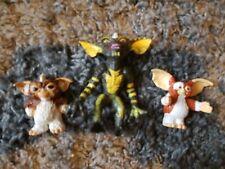 Vintage 1984 & 90 Plastic 3 Figures Toy Lot Gremlins Warner Bros LJN Toys Gizmo