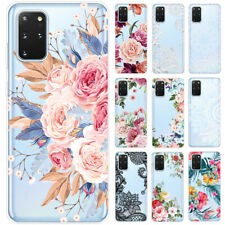 For Samsung Galaxy S20 A51 A71 Clear Painted Shockproof Soft Silicone Case Cover