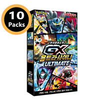 "Pokemon cards Sun&Moon ""GX Ultra Shiny Ultimate"" Booster Box SM8b / Korean Ver"