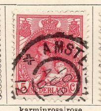 Países Bajos 1898-99 rápida de los problemas Fine Used 5c. 119383