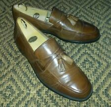Johnston & Murphy Brown Leather Loafers, Size 9.5 UK, 10.5 US.
