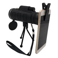 40x60 Outdoor Single Mini HD Monocular Cell Phone Camera Lens Telescope