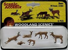 Woodland Scenics Ho/Hon3 Set of Deer (1884)