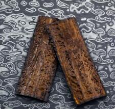 Knife Handle Scales Slabs POM Resin Antler Horn Material Sword Making Supplies
