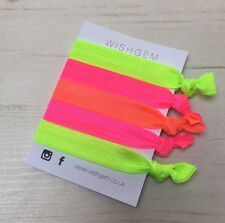 Neon Wristbands / Festival Bands / Hairbands Pack Of 5