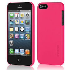 Incipio Feather Case iPhone 5 5S 5SE Ultra Thin Snap-on Scarlet Pink NIB