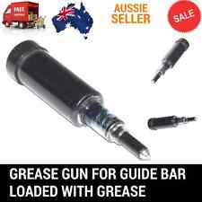 Grease Gun For Chainsaw Sprocket Nose Guide Bar Loaded With Grease Brush cutter