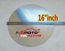 """16"""" inch DIA. 405mm Aluminum Disc Circle Blank Plate Flat Sheet Round 2mm Thick"""