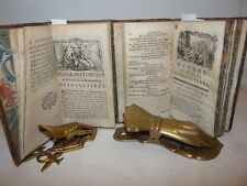 DESHOULIERES: OEUVRES Nouvelle edition 2 volumi 1754 Parigi Legatura Incisioni