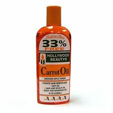 Beauty Carrot Oil Repairs Split Ends Fights Hair Breakage Great for massage 8 oz