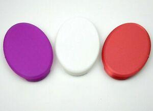 2 x Deckel für Sagrotan No Touch Seifenspender zum Nachfüllen Nachfülldeckel