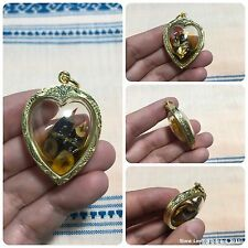 Phra Phirap Wat Suttharam Giant Head Takrut Amulet Luck Charm Wealth Protect