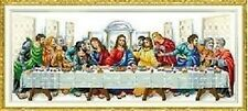 "NEW Cross Stitch Kits"" The last supper """