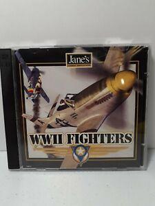 Jane's Combat Simulators WWII Fighters 1998 Big Box PC Game Windows 95/98 CD-ROM