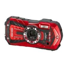 USED Ricoh Waterproof WG-30 Red Excellent FREE SHIPPING