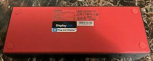 Lenovo ThinkPad 40AF Hybrid USB-C USB-A Dock 03X7469 SD20Q13457 - 4K DisplayLink