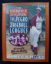 BIOGRAPHICAL ENCYCLOPEDIA OF THE NEGRO BASEBALL LEAGUES BY RILEY - AUTOGRAPHED