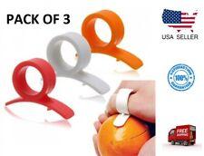 Easy Opener Lemon Orange Peeler Slicer Cutter Plastic Kitchen Tools (Pack of 3)