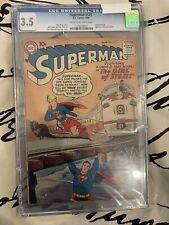 Superman #123 CGC 3.5 1958 1st app. 'Super-Girl! Prototype!