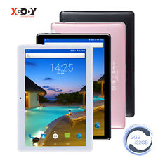 XGODY 2020 New Android 9.0 Tablet PC Quad Core 2+32GB WLAN Dual SIM Bluetooth 3G